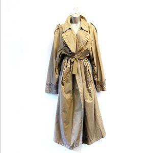 Christian Dior Vintage Trench Coat Khaki Size 1X